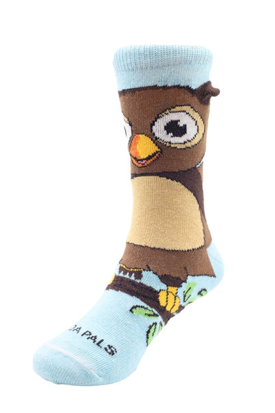 Owlbert Right - Sock Panda