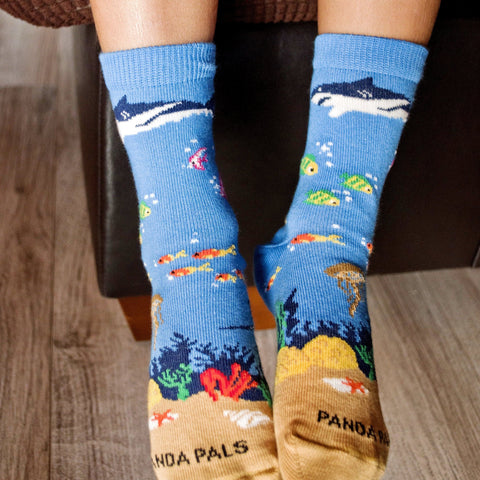 Shark in the ocean - Lifestyle - Sock Panda
