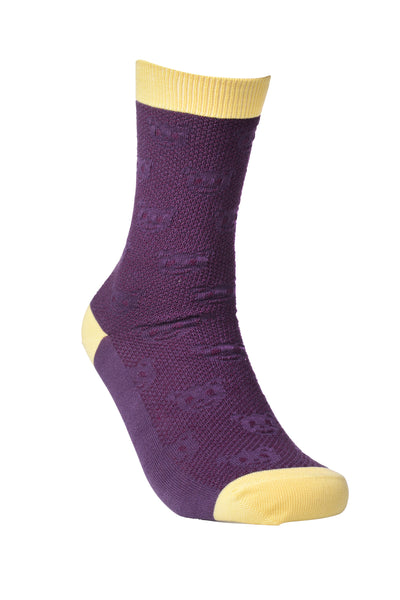 Purple Panda Right - Sock Panda