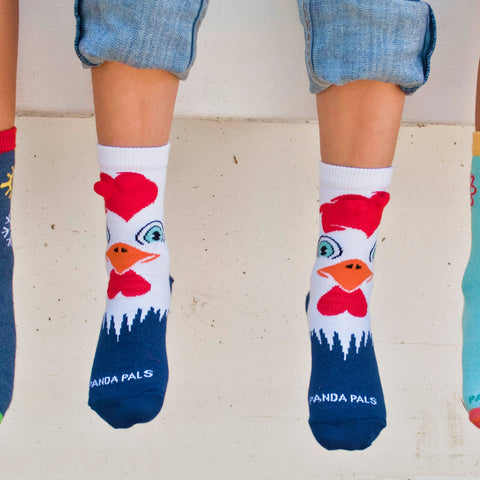 Rooster Sock (Age 3-7)