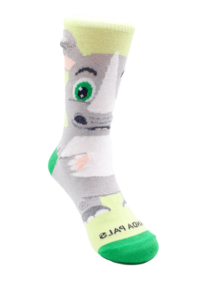 Reggie the Rhino Right - Sock Panda