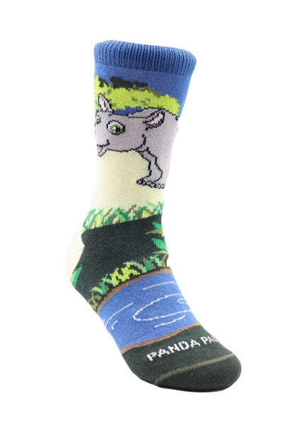 Thabo the Rhino Left - Sock Panda