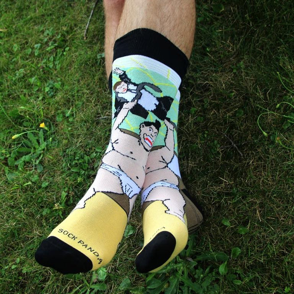 Sumo Man Lifestyle - Sock Panda