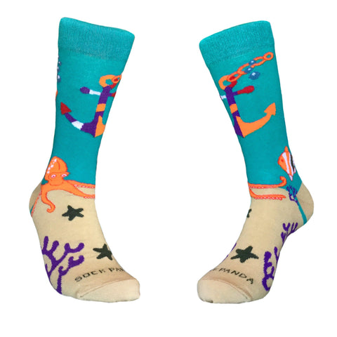 Under the Sea Both - Sock Panda