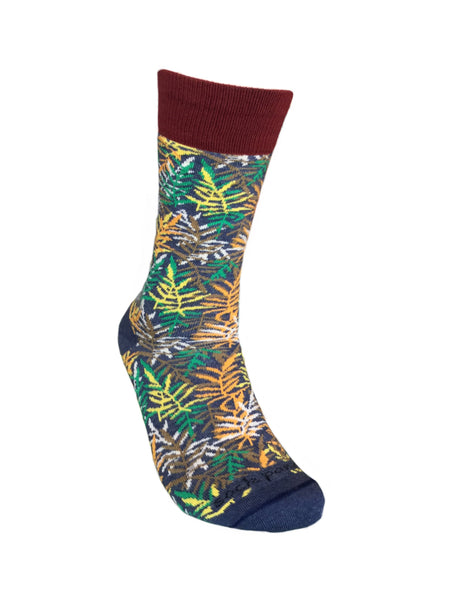 Fall Leaves Pattern Right - Sock Panda