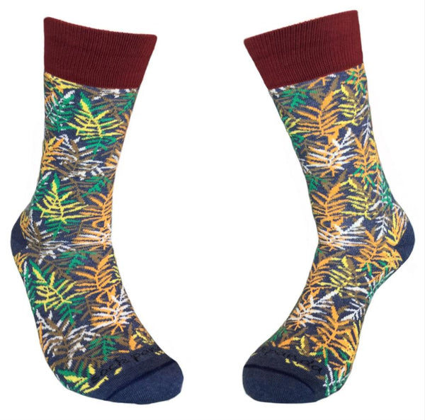 Fall Leaves Pattern Both - Sock Panda