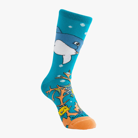 Dolphin Right - Sock Panda