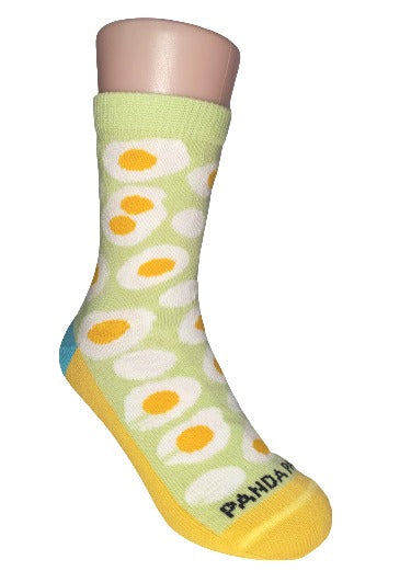 kids egg sock right - sock panda