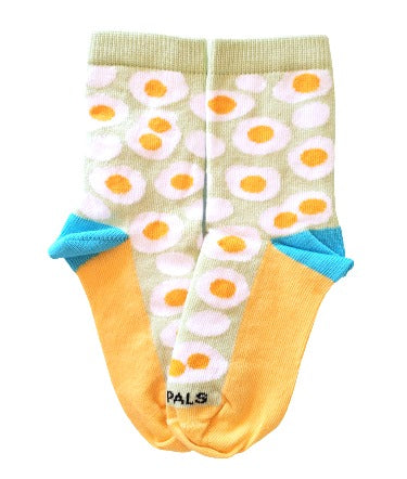 kids egg sock flat - sock panda