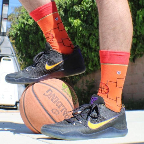 March Madness Bracketology Socks - Limited Edition