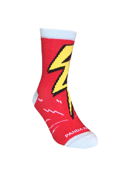 Flash of Lightning Left - Sock Panda