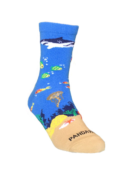 Shark in the Ocean Right - Sock Panda