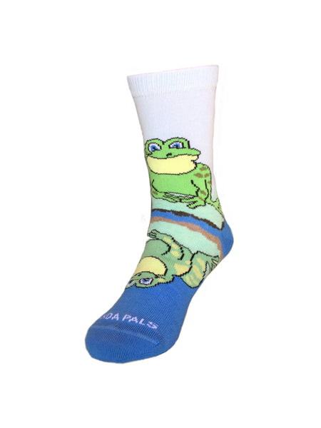 Reflective Frog Front Right - Sock Panda