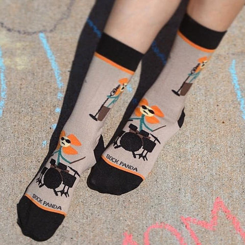 Rockin flower Lifestyle - Sock Panda