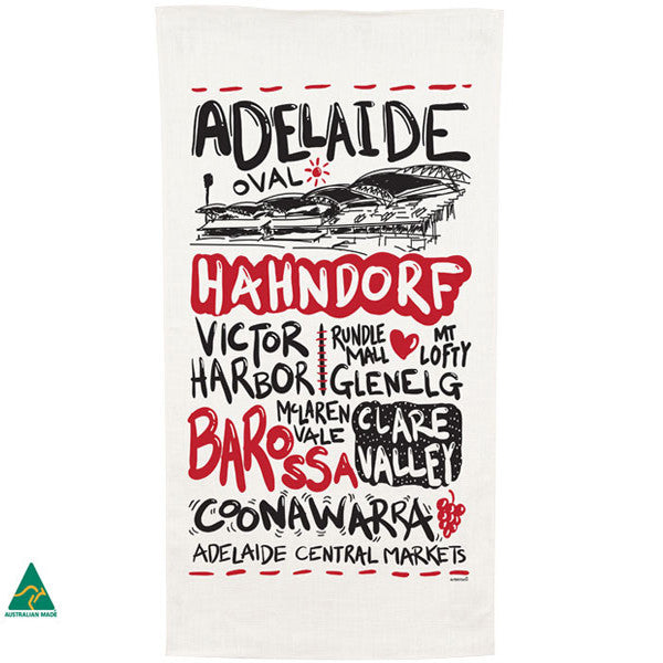 Adelaide - Tea Towel