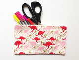 Kangaroo Paw Cotton Zip Bag
