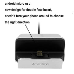Universal Charger Docking Station for Android Smartphone Bundle