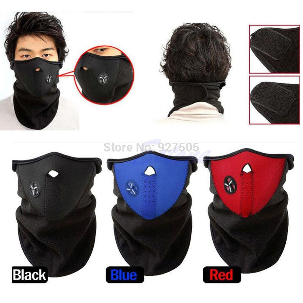 Unisex Ski & Snowboard Mask - Cold protection mask for motorcycle / Bicycle/ Skiing / Mountain Climbing - Ski Mask Neck Warmer / Outdoor Sports Mask - FREE SHIPPING - AmaziPro8