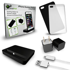 AmaziPro8 iPhone Charging Station, Cradle Dock Station for Apple iPhone 6 Plus 6 6s 5 5S 5C (Black) + FREE SHIPPING - AmaziPro8