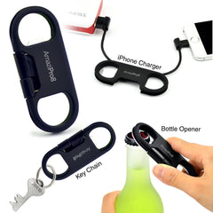 AmaziPro8 iPhone Charge Sync Cable + Bottle Opener + Key Chain + mini Stylus Pen + Antidust Plug + FREE SHIPPING - AmaziPro8