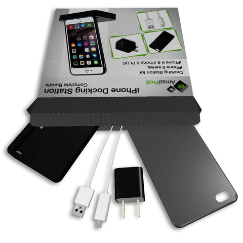 AmaziPro8 iPhone Charger Docking Station Complete Bundle