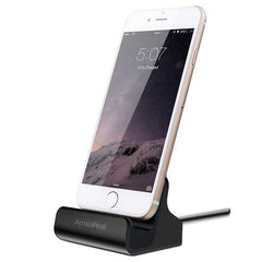 iPhone Charger Docking Station+ Stylus + Dust Plug , Best USB Lightning Cable, Charge & Sync Stand - AmaziPro8