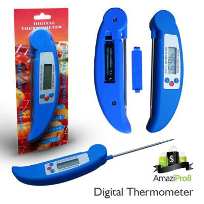 Super Fast Digital Meat Thermometer, FREE Battery Included + FREE SHIPPING