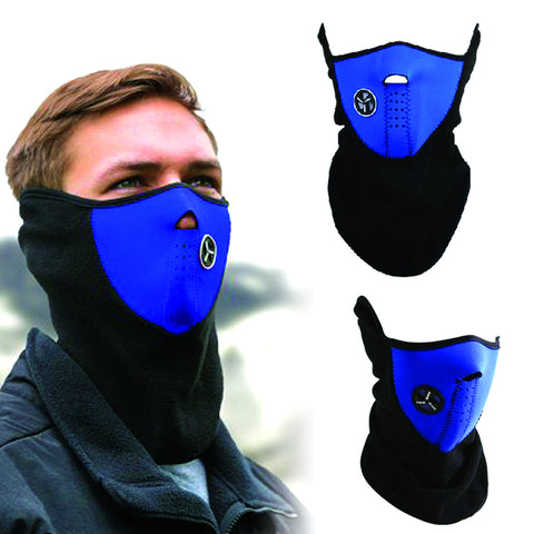 Unisex Ski & Snowboard Mask - Cold protection mask for motorcycle / Bicycle/ Skiing / Mountain Climbing - Ski Mask Neck Warmer / Outdoor Sports Mask - FREE SHIPPING