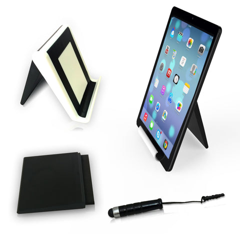 Universal tablet computer stand - ipad stand + screen cleaning brush + mini stylus pen + anti dust plug + FREE SHIPPING