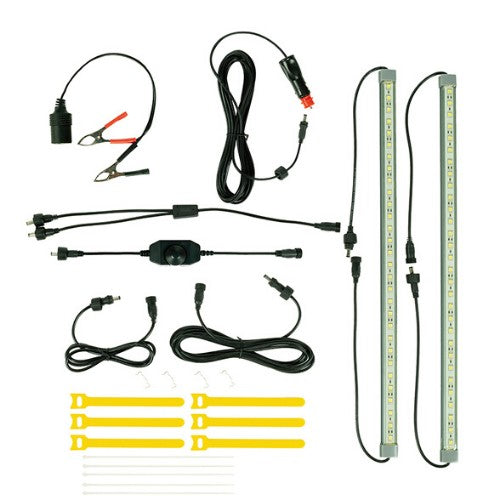 OZTRAIL 12V LED 2 BAR KIT LIGHT