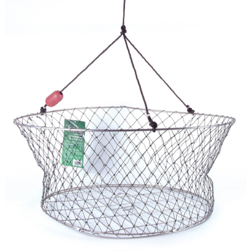 NET FACTORY - CRAB DROP POT METAL GRILL BASE