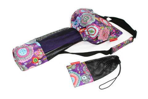ScooterSlingz Scooter Bag for Mini or Maxi Micro Scooter - Purple Haze
