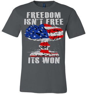 FREEDOM INS'T FREE - ITS WON - Mil-Spec Customs
