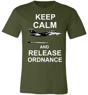 F-14 KEEP CALM AND RELEASE ORDNANCE - Mil-Spec Customs