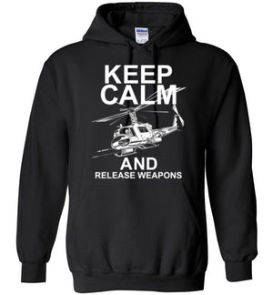 UH-1 KEEP CALM AND RELEASE WEAPONS
