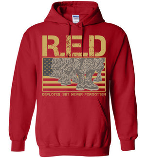 REMEMBER EVERYONE DEPLOYED - R.E.D - Mil-Spec Customs