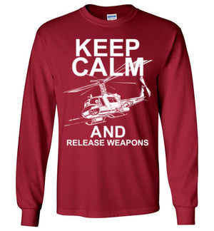 UH-1 KEEP CALM AND RELEASE WEAPONS - Mil-Spec Customs