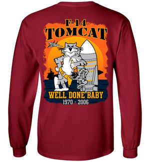 F-14 TOMCAT - WELL DONE BABY! - Mil-Spec Customs