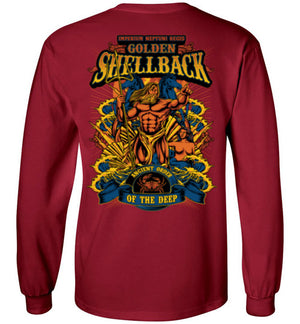 NEW Golden Shellback - Ancient Order of the Deep