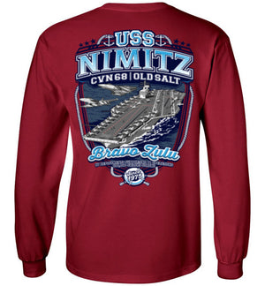 USS NIMITZ - OLD SALT SINCE 1975 CVN 68 - Mil-Spec Customs