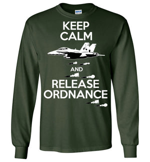 FA-18 Hornet - Keep Calm And Release Ordnance - Mil-Spec Customs