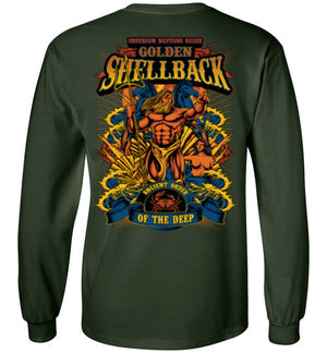 Golden Shellback - Ancient Order of the Deep - Mil-Spec Customs