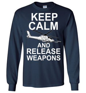 AH-64 Keep Calm and Release Weapons - Mil-Spec Customs