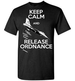 F-16 Falcon - Keep Calm And Release Ordnance - Mil-Spec Customs