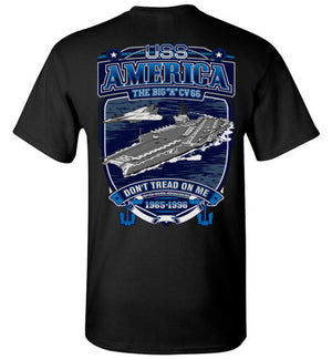 USS America - CV 66 - Don't Tread On Me