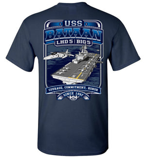SS USS Bataan - LHD 5 - Courage Commitment Honor