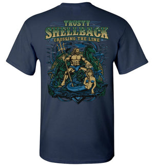 NEW Trusty Shellback - Crossing The Line