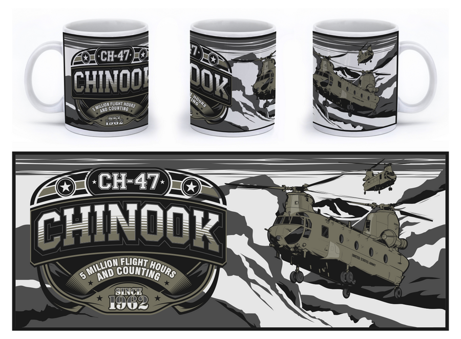 CH-47 Chinook Mug - Mil-Spec Customs