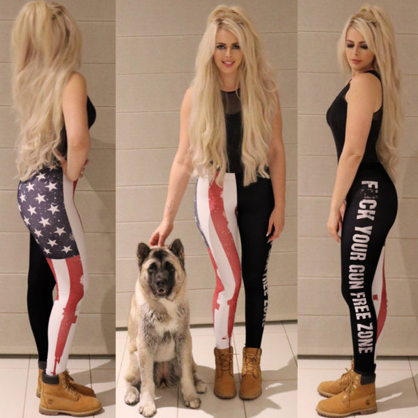 Fu#k Your Gun Free Zone - Leggings - Mil-Spec Customs