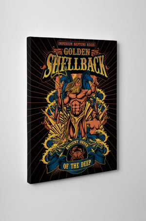 Golden Shellback Canvas - Mil-Spec Customs